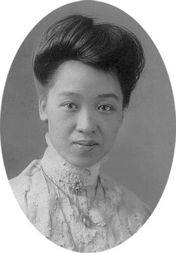 Kang Tongbi, 1887-1969  The daughter of Kang Youwei, a Chinese reformer and political figure of the late Qing dynasty and early Republican era, she was deeply involved in the women's movement in Shanghai, advocating women's rights through meetings and speeches. She was an editor and major contributor to  Nüxuebao  (Women's Education), one of the first women's journals in China. She took a stand against the practice of foot-binding, establishing and co-leading a  Tianzuhui  (Natural Feet Society) with other Chinese feminists that served as a base of operations for their activities.