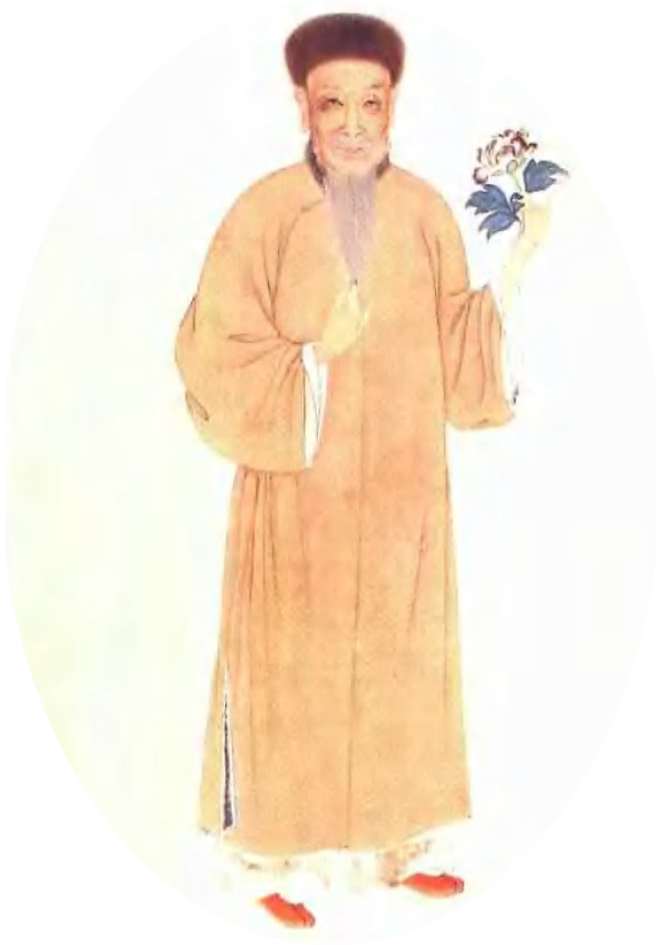 Yuan Mei, 1716- 1797  Well-known male poet, scholar, artist, and gastronome of the Qing Dinasty.