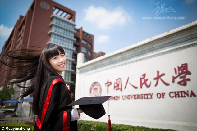 Kang Kang, the attractive female student featured in the homepage of Renmin University of China, one of the country's top universities, promoting the institution, wouldn't be able to become a geologist or a tunnel engineer if she wanted to. China's education ministry bans women from studying a variety of subjects across China, from navigation to mining. The website of the university crashed in June after it had an unprecedented number of visitors, who allegedly logged in to check out Kang Kang's photos. Many suspect the pictures are one of the ways the university uses to attract new students, the South China Morning Post reported.