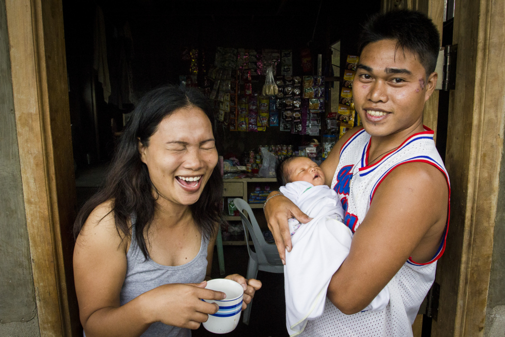 "This baby, born shortly after ""Super Typhoon"" Haiyan, was christened Yolanda in honour of the filipino name for the storm that destroyed her village, Veloso, in Southern Samar."