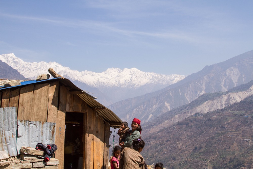 Those who have suffered and will continue to suffer the most from the earthquake are the rural poor. The village of Ewe is located in Dhading, one of the districts worst affected by the earthquake - Photo by Denise Poon.