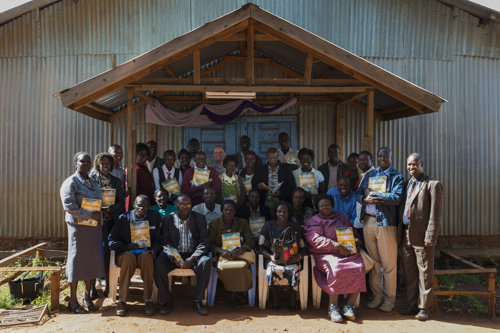 The Disciple Makers course participants from one of the first two groups. All participants completed the course and in turn are able to teach the materials to others. Photo credit - Tim Coleman
