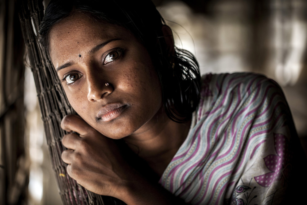 Many young women in Bangladesh struggle to provide for themselves and their families in large cities like Dakha. For some sex work can seem like an attractive way to make extra money - Photo courtesy of  WorldFish .