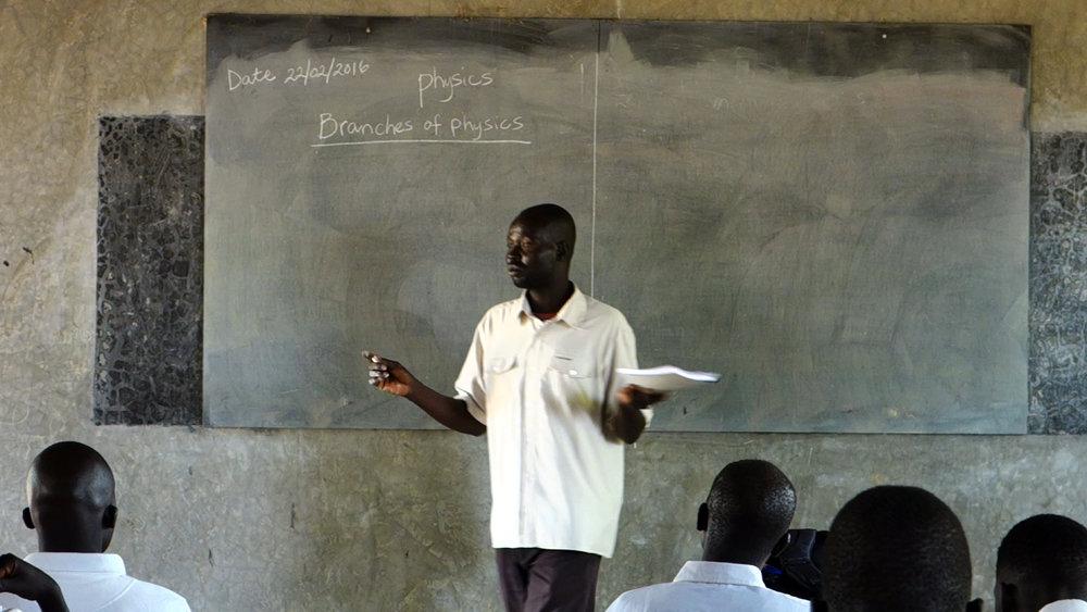 Dikem now teaches Physics at SIC Secondary School.