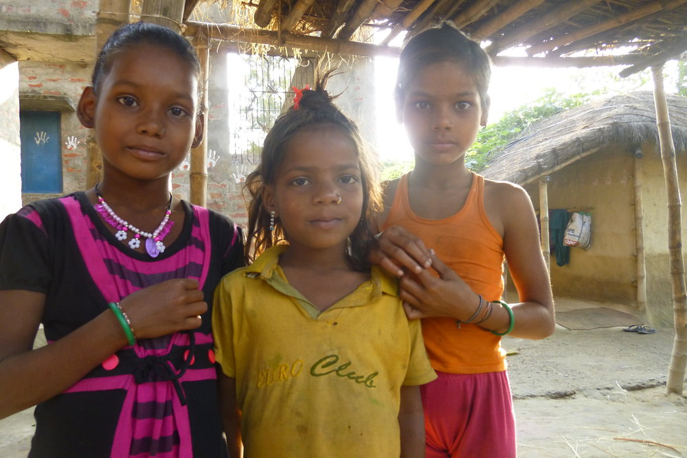 Two of these girls are already married. They're waiting until they're old enough to move to their husband's household - Photo by Sarah K.