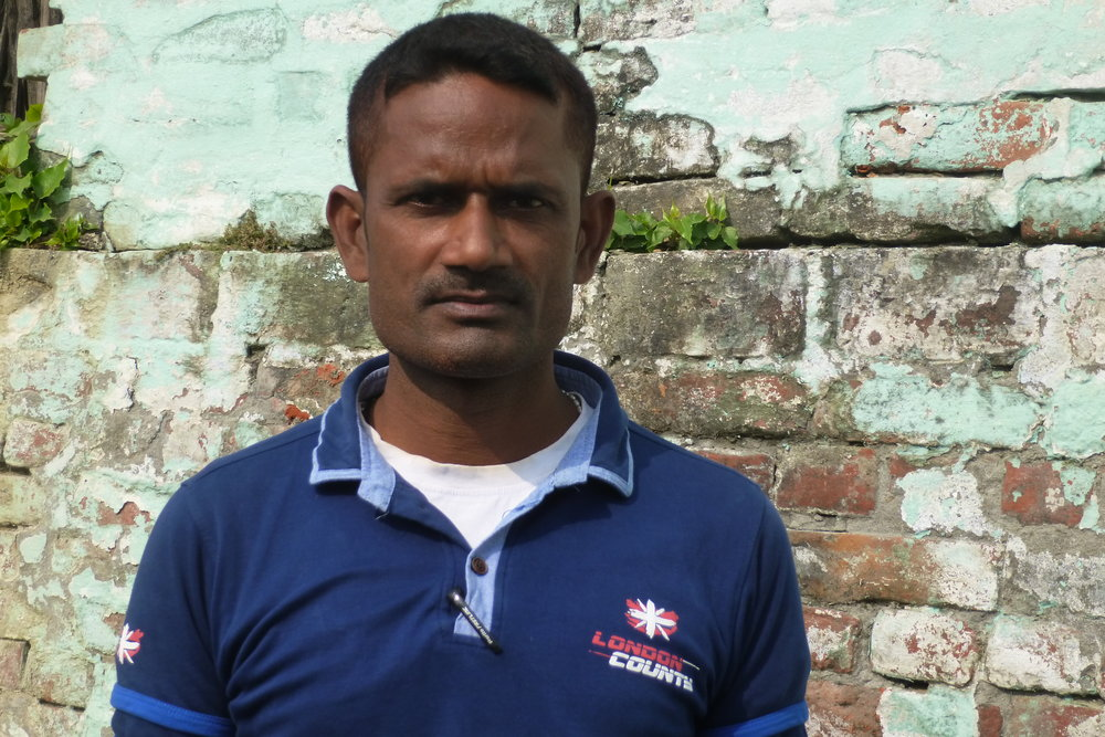Being a volunteer with Chetna has not only meant that Saroj was supported through difficult personal situations, but he's made an enormous impact on his local community - Photo by Sarah K.