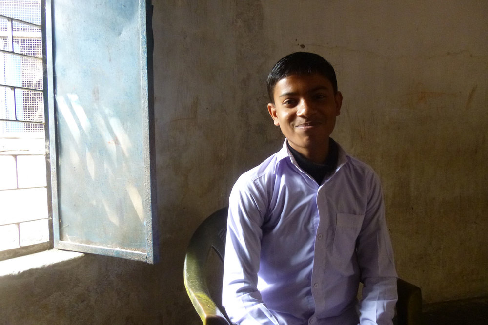 Returning to school has Ashish and his parents dream of a future beyond subsistence farming - Photo by Sarah K.