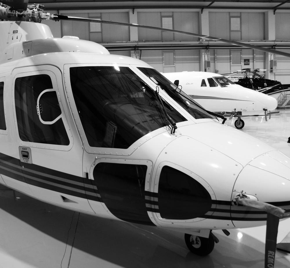 Sikorksy, Citation, Bell 407