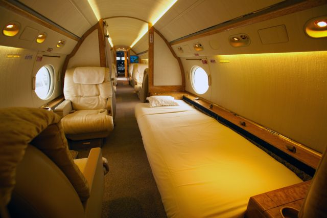 Gulfstream GV #564 Interior For Sleeping.jpg