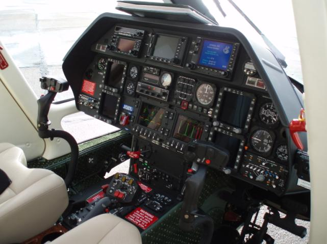 A109S Grand Cockpit
