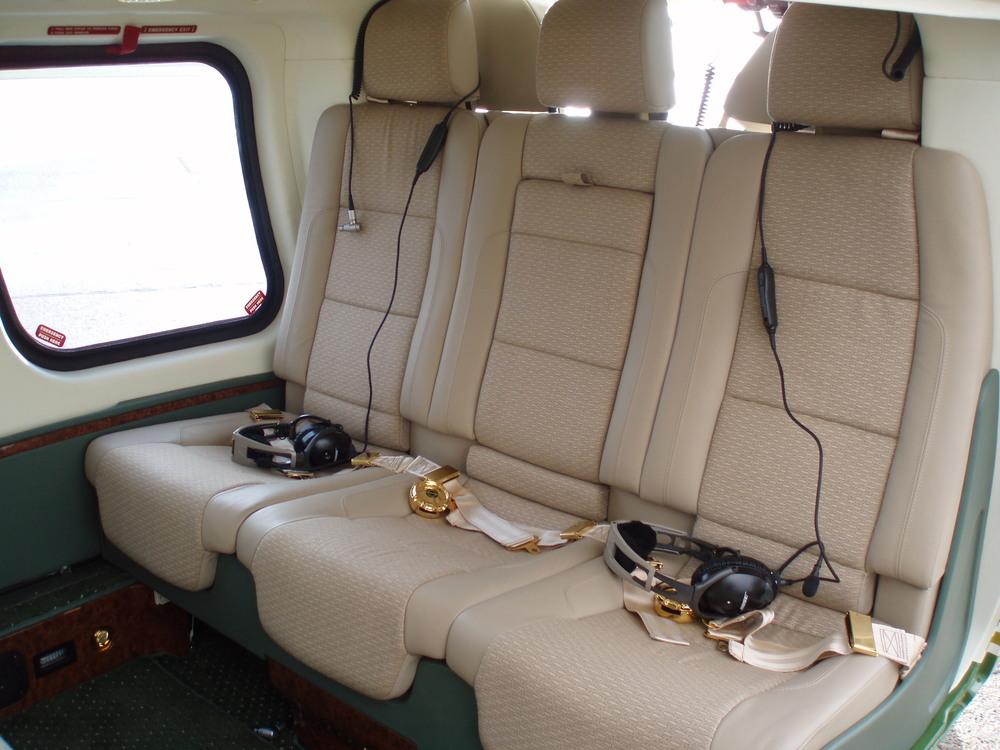 Agusta Westland A109S Grand Interior