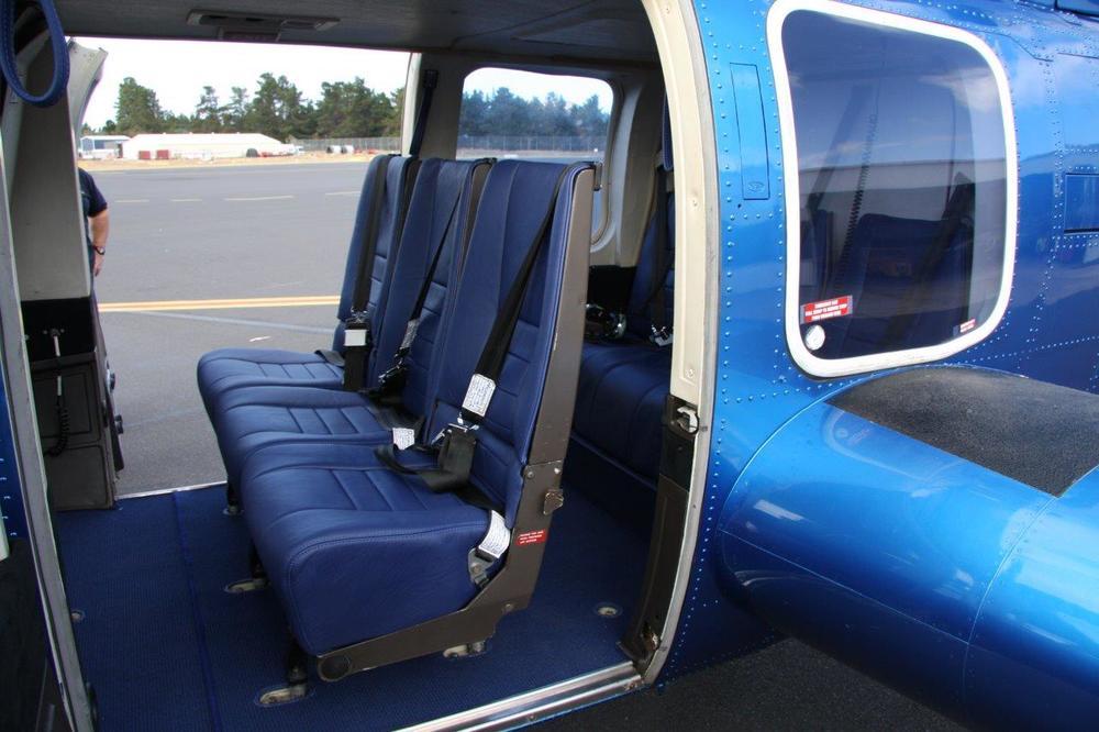 Bell 222 Interior
