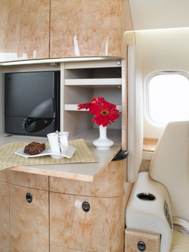 Lear 60 Galley
