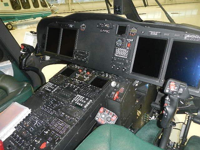AW139 Cockpit