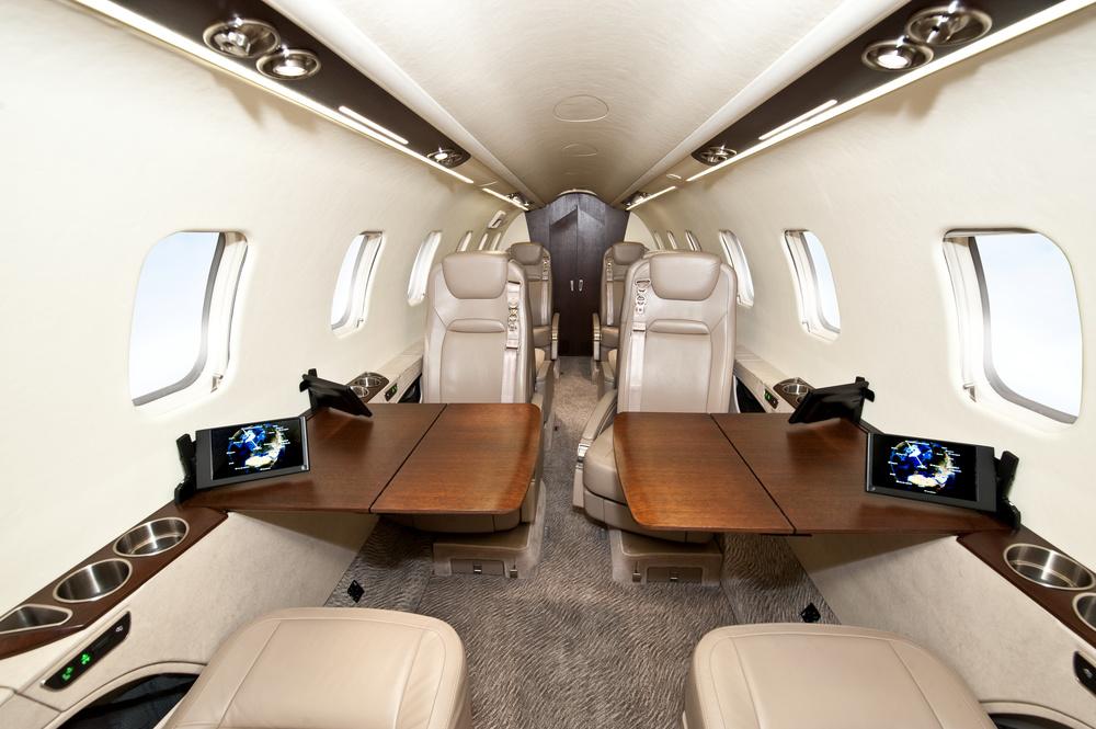 Lear 75 Interior 1