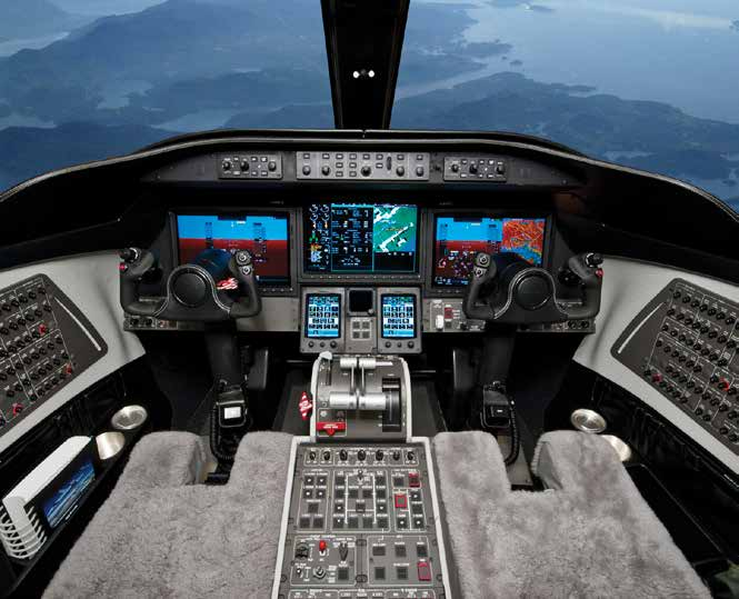 Learjet 75 Interior Cockpit
