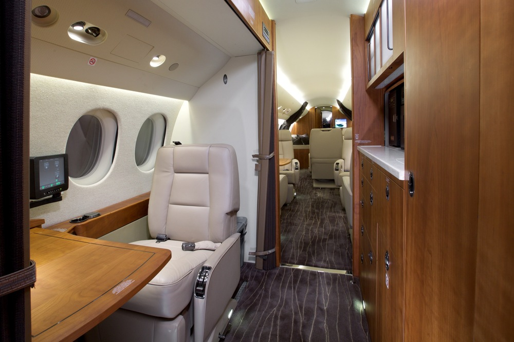 2012 Dassault Falcon 7X For Sale - Galley and Crew Rest