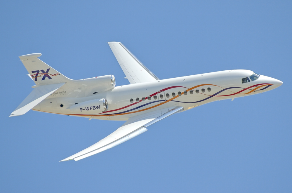 Altus Aviation Dassault Falcon 7X November Market Report