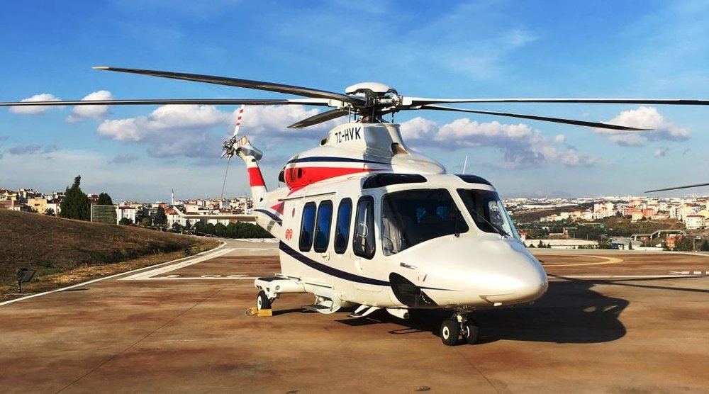 Altus Aviation AW139 For Sale Exterior 2