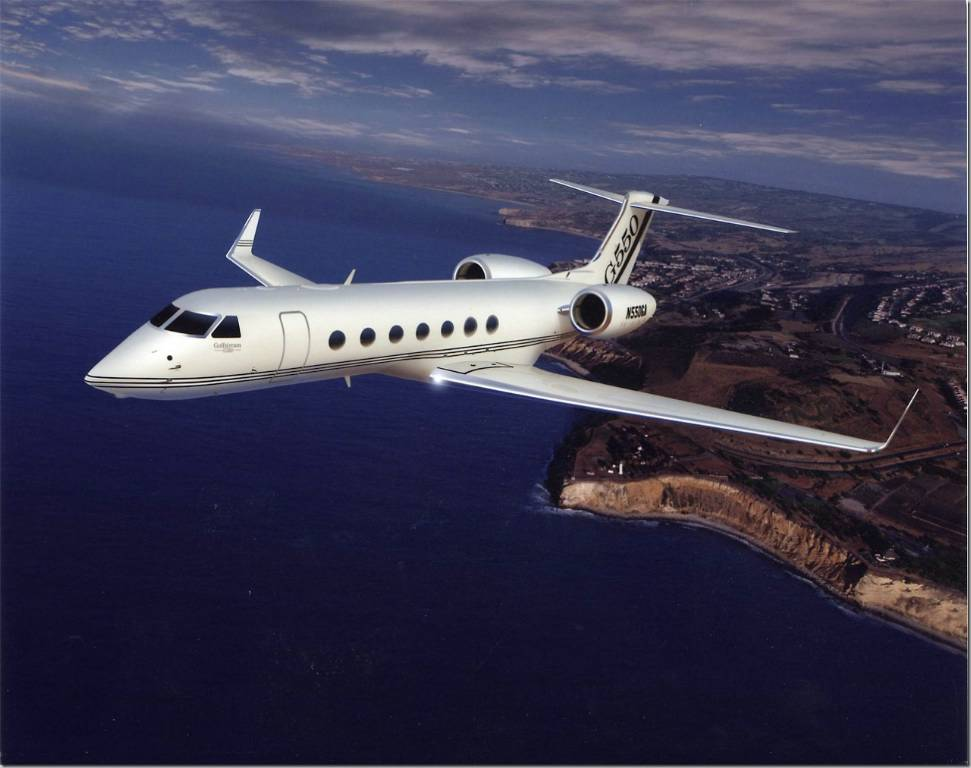 Altus Aviation Gulfstream G550 Market Report July 2017