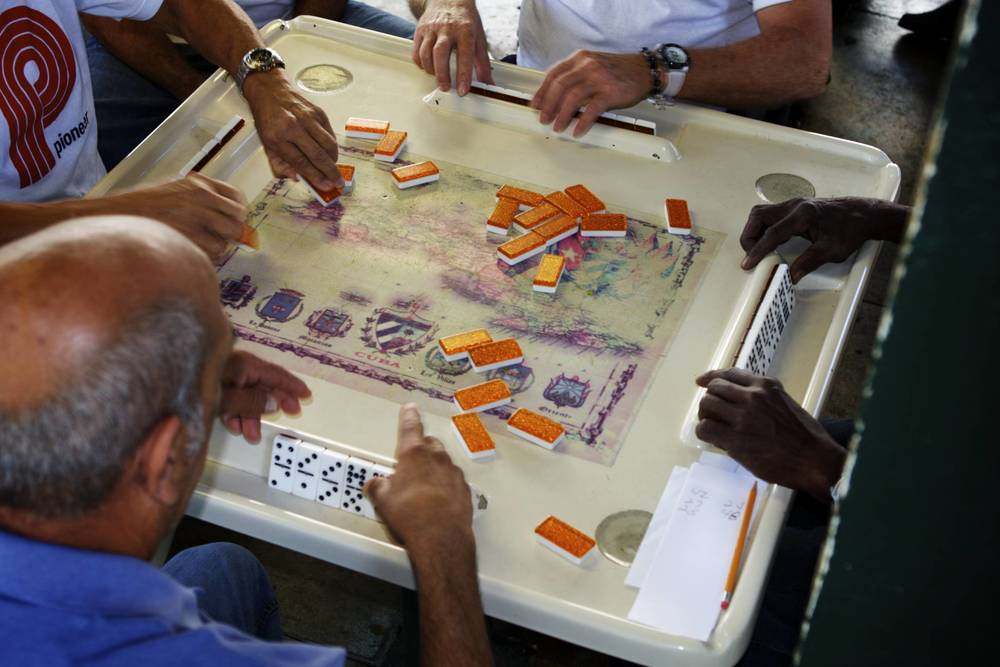 Calle Ocho: Domino Players in Little Havana, Miami