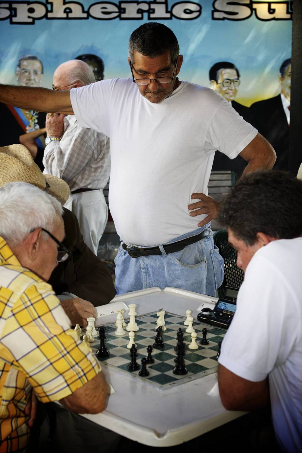 Calle Ocho: Chess Players in Little Havana, Miami