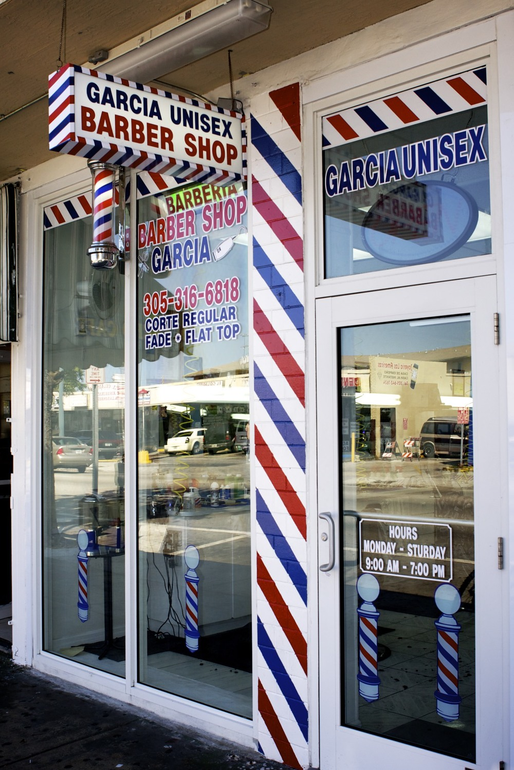 Calle Ocho: Unisex Barbershop in Little Havana, Miami