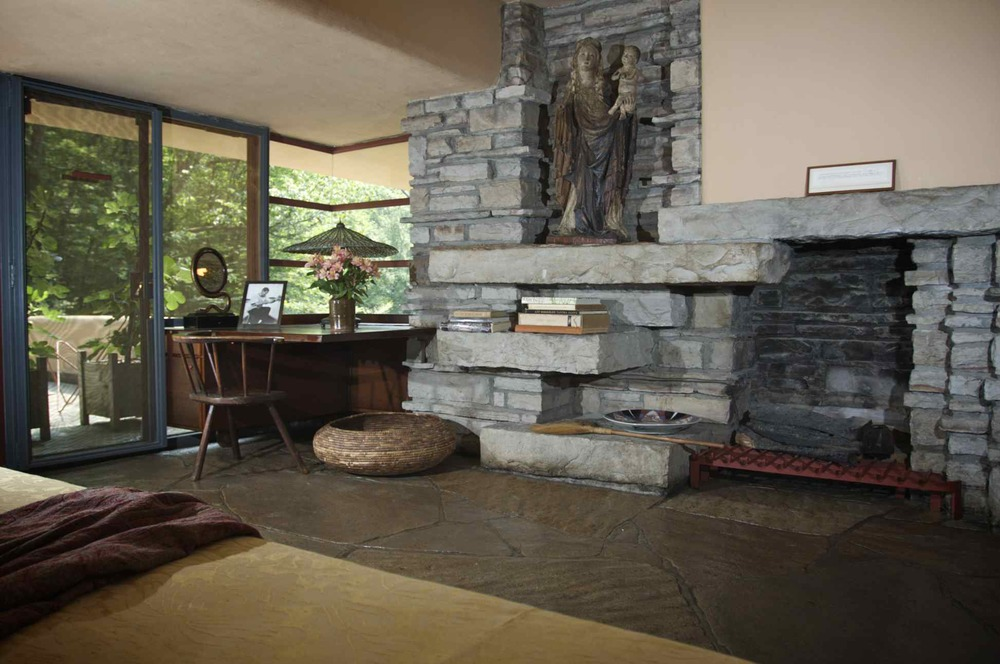 Fallingwater: Hearth
