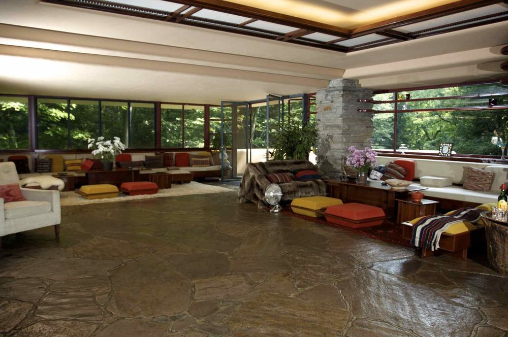 Fallingwater: Living Room