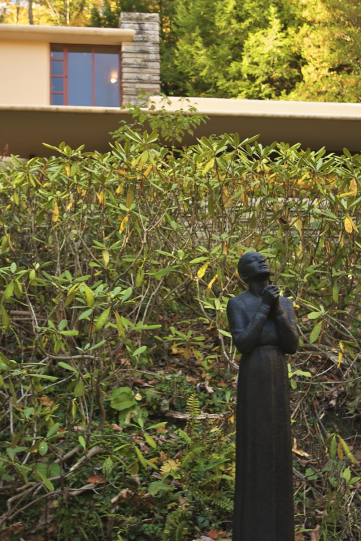 Fallingwater: Buddha Statue