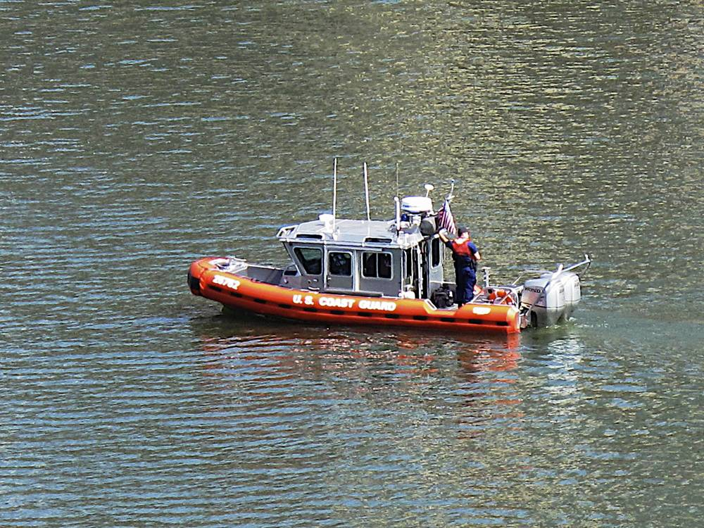 Pgh Boats: Coast Guard on the Monongahela