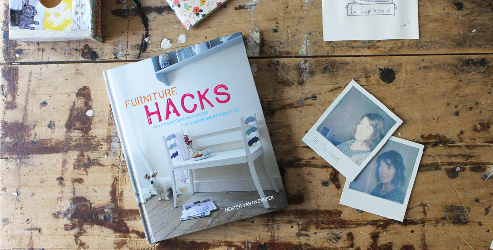 My book Furniture Hacks was released August 2015 -
