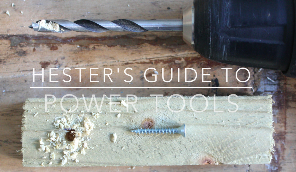 guide to power tools