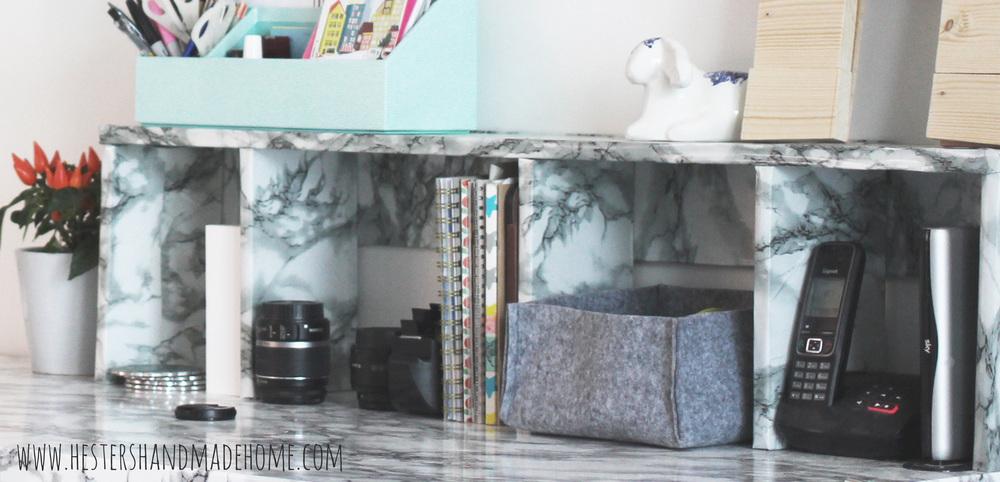 desk divider marble