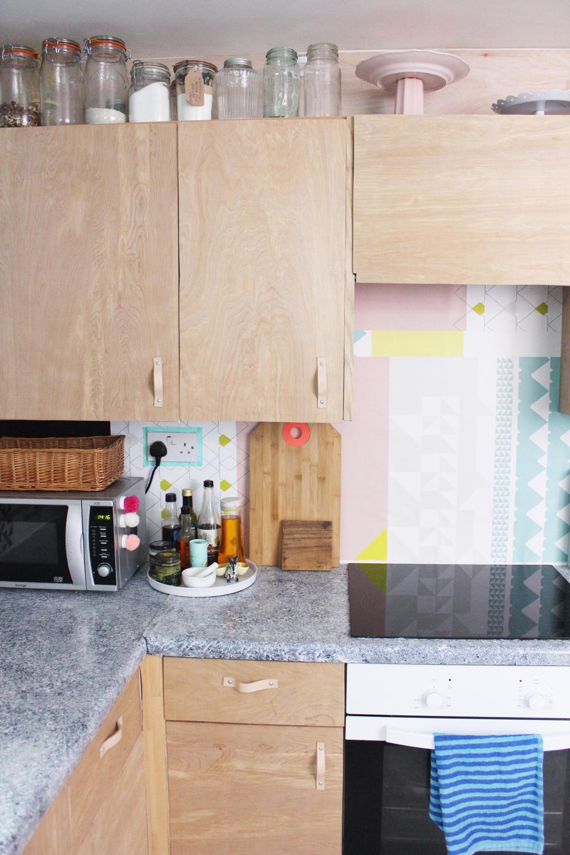 Plywood Kitchen Update