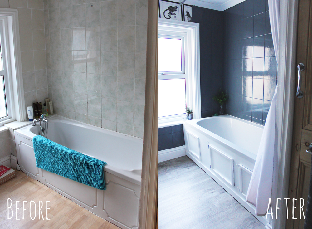 Bathroom makeover Hesters Handmade Home