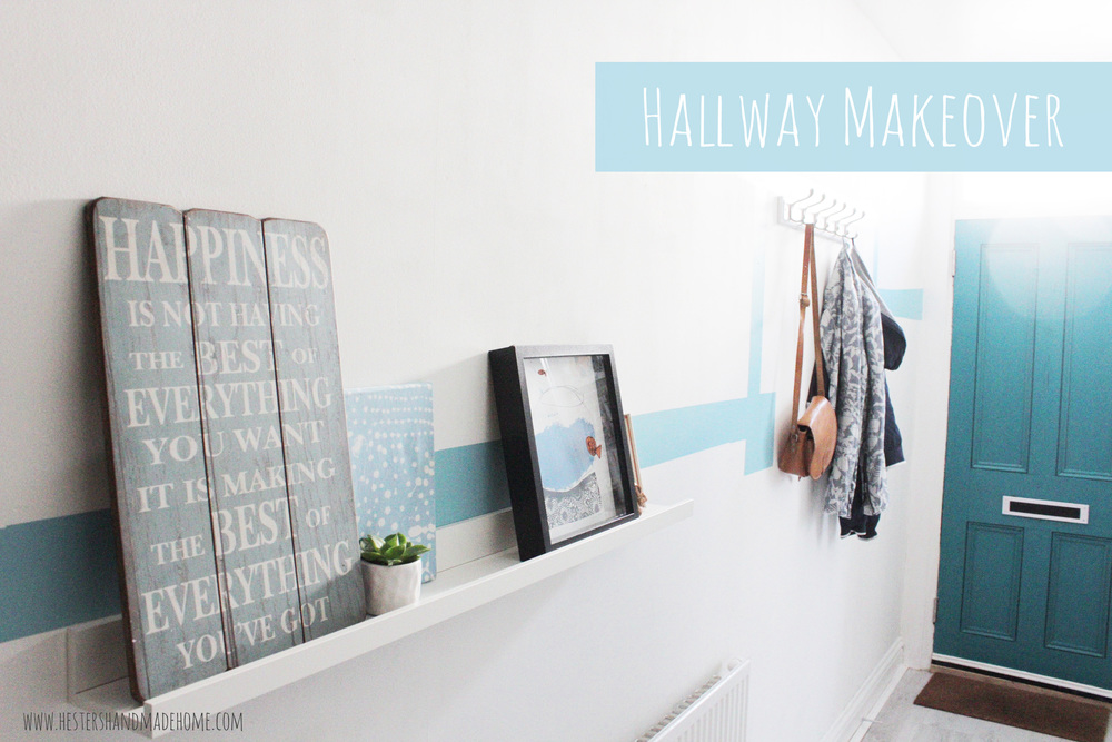 hallway makeover Hesters Handmade Home