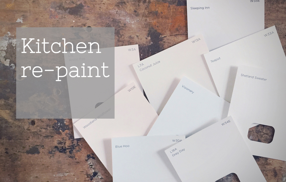 kitchen repaint with valspar paint, video by www.hestershandmadehome.com