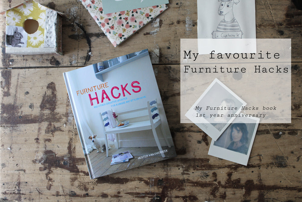My favourite furniture hacks from the past year, tutorials by Hester's Handmade Home