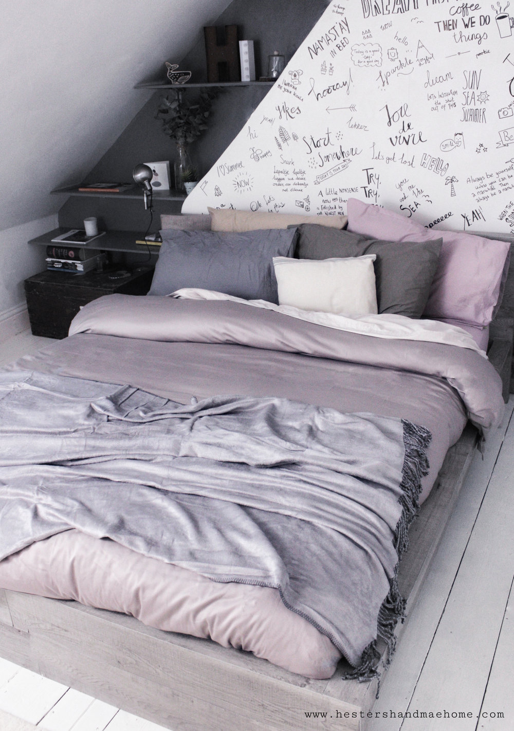 hygge your bed by www.hestershandmadehome.com