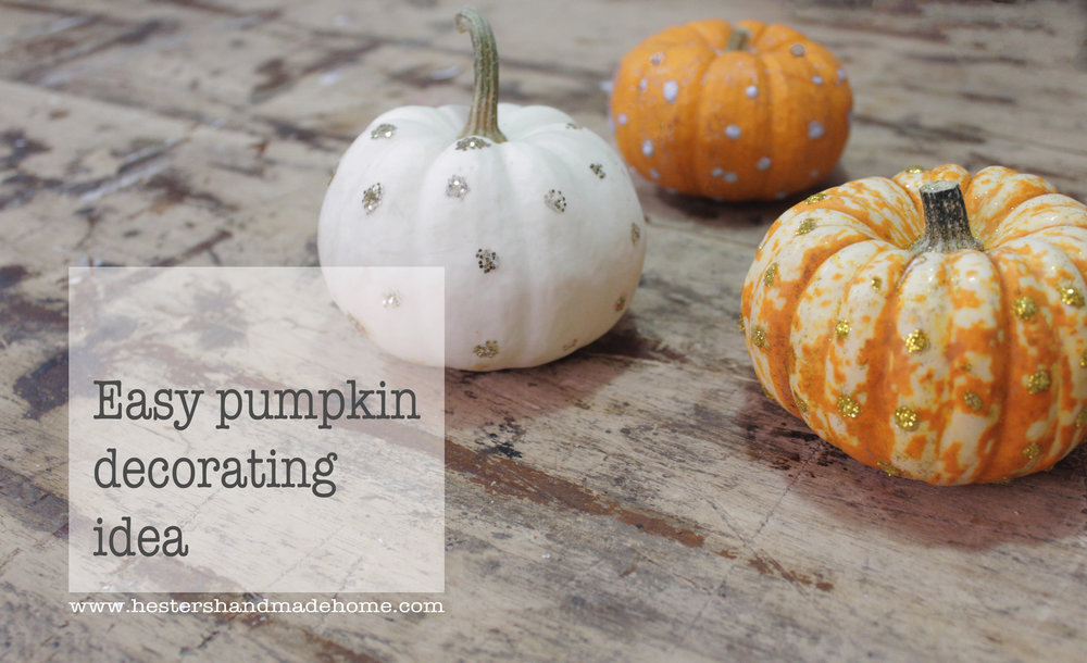polka dot pumpkins tutorial by www.hestershandmadehome.com