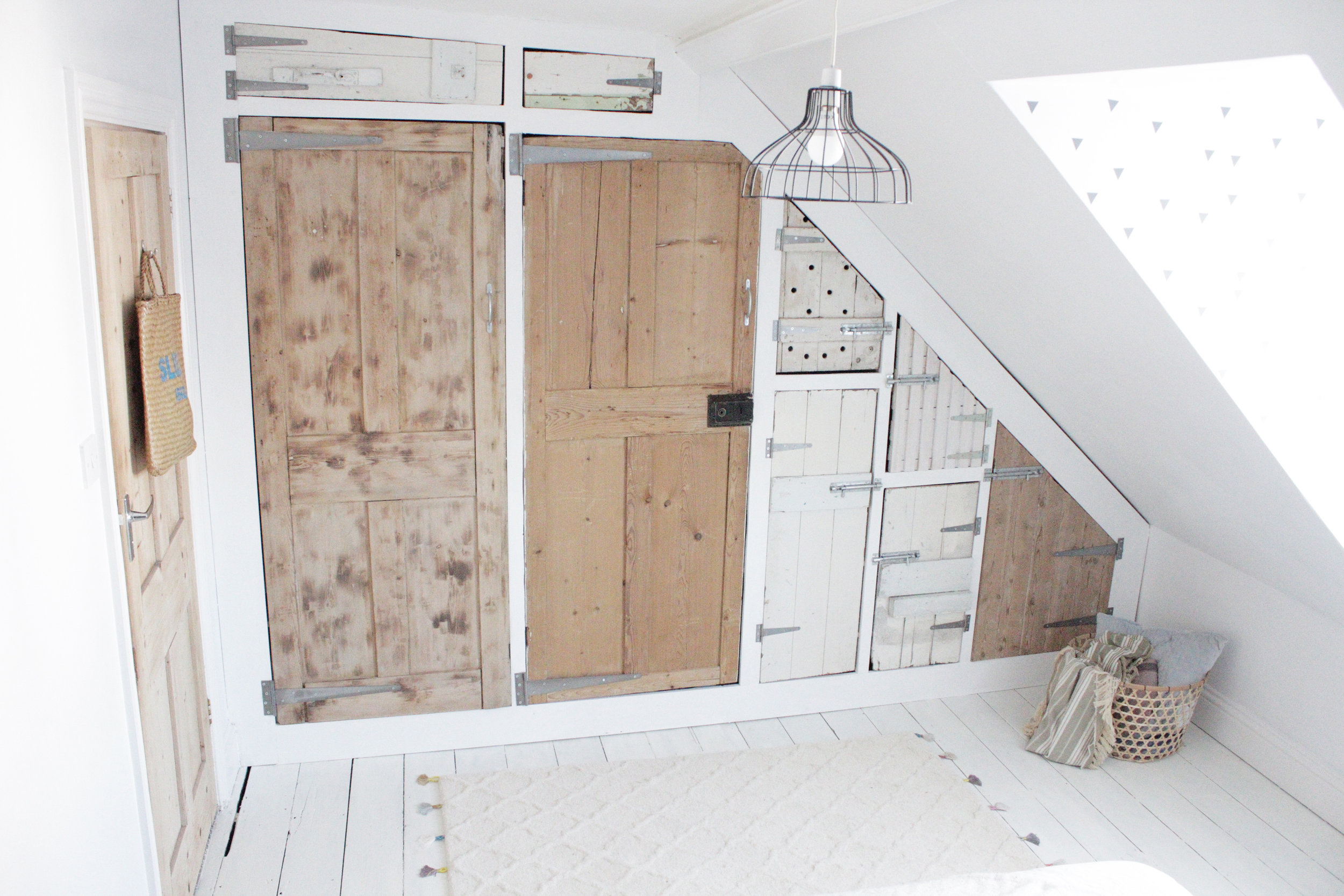 The Big Wardrobe Build Using Reclaimed Doors, Part 2 U2014 Hesteru0027s Handmade  Home
