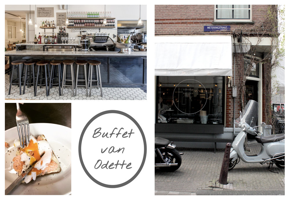 Photo's  top left and bottom left by  Buffet van Odette