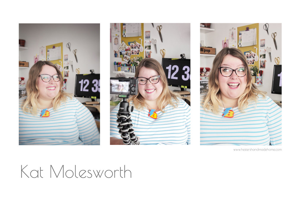 Meet the maker Kat Molesworth www.hestershandmadehome.com