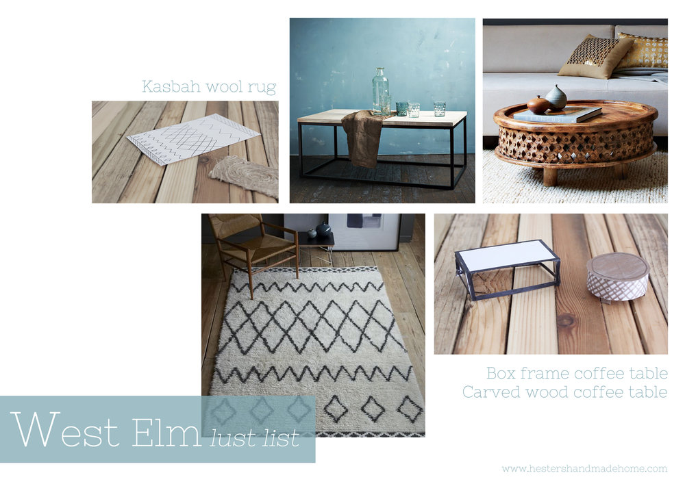 my west elm lust list www.hestershandmadehome.com