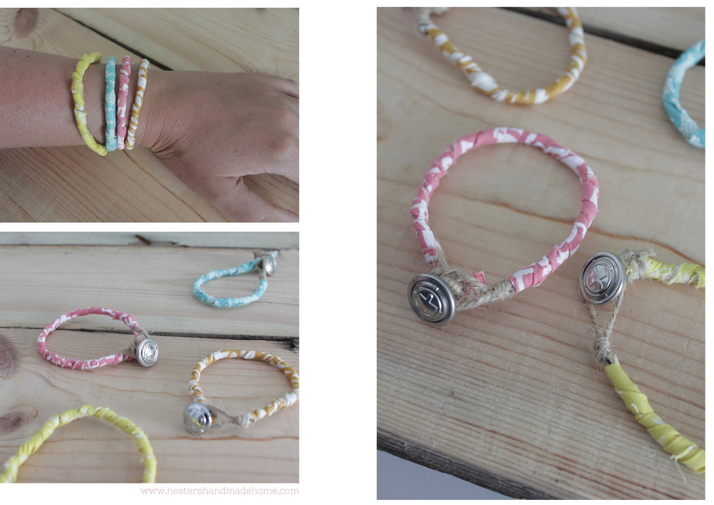 Bracelet tutorial by Hesters Handmade Home