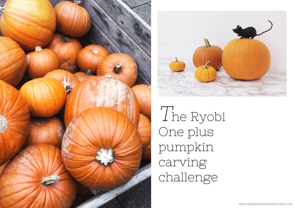 Pumpkin carving challenge by hestershandmadehome