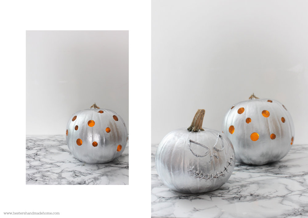 Pumpkin decorating by www.hestershandmadehome.com