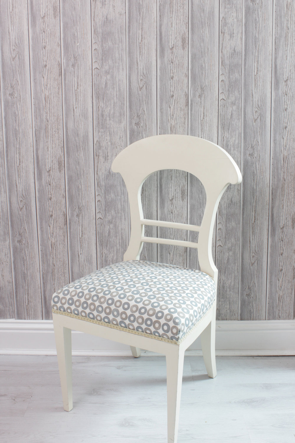 Chair before its chalk paint makeover by Hesters Handmade Home