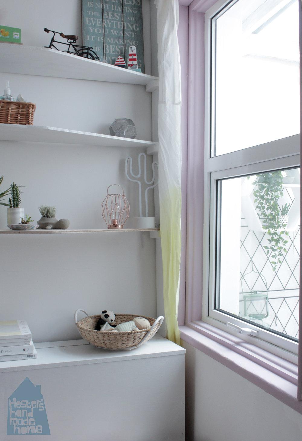 Colour pop window by www.hestershandmadehome.com